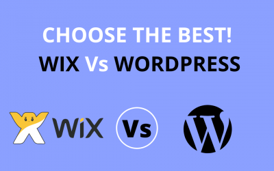 CHOOSE THE BEST! WIX Or WORDPRESS?