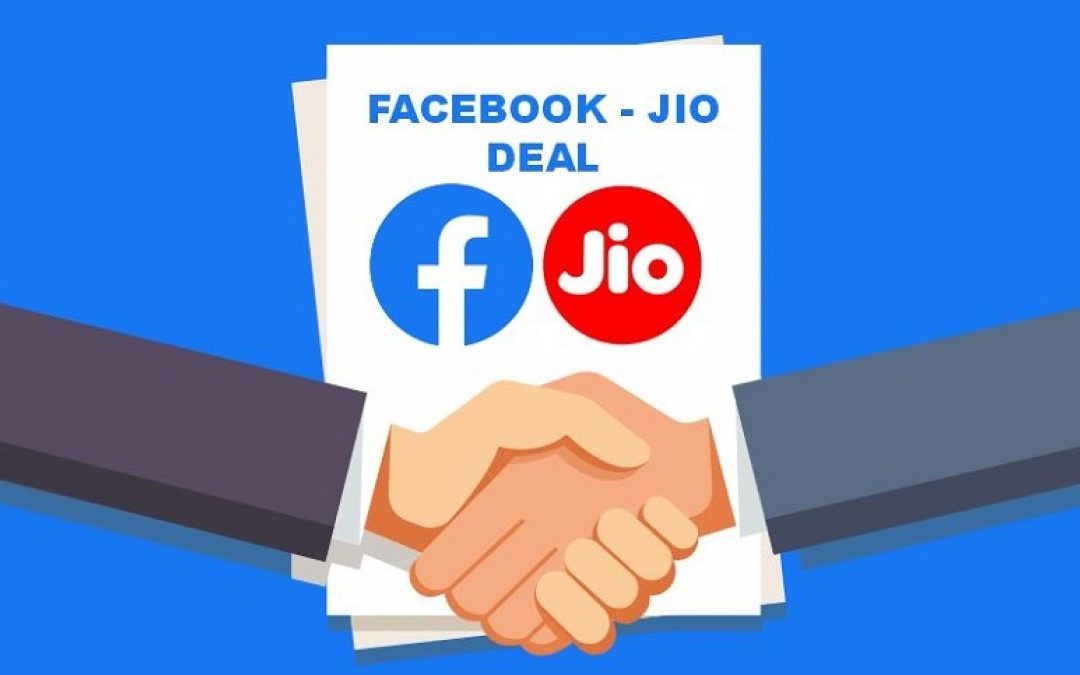 Facebook purchased a 9.99% stake in Reliance Jio (RIL)